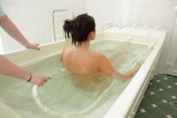 ПДМ (в бальнеологической ванне)